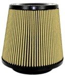 aFe Universal Pro Guard 7 Air Filter - Oiled - Inverted - Clamp On