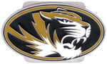 "Missouri Tigers Logo Trailer Hitch Cover for 2"" Trailer Hitches"