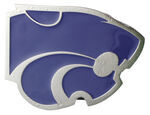 "Kansas State University Collegiate Hitch Receiver Cover for 2"" Trailer Hitches"