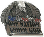"One Nation Under God 2"" Trailer Hitch Cover"