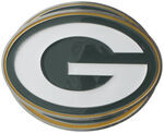 "Green Bay Packers NFL 2"" Trailer Hitch Cover"