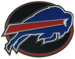 "Buffalo Bills NFL 2"" Trailer Hitch Cover"