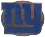 "New York Giants NFL 2"" Trailer Hitch Cover"