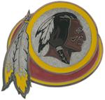"Washington Redskins NFL 2"" Trailer Hitch Cover"
