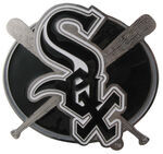 "Chicago White Sox MLB Hitch Receiver Cover for 2"" Trailer Hitches"