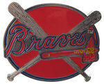 "Atlanta Braves MLB Hitch Receiver Cover for 2"" Trailer Hitches"
