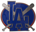 "Los Angeles Dodgers MLB Hitch Receiver Cover for 2"" Trailer Hitches"