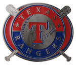 "Texas Rangers MLB Hitch Receiver Cover for 2"" Trailer Hitches"
