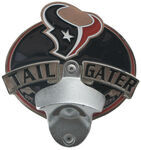 "Houston Texans NFL Tailgater 2"" Trailer Hitch Cover"