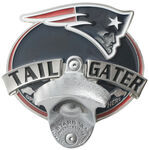 "New England Patriots NFL Tailgater 2"" Trailer Hitch Cover"