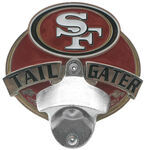 "San Francisco 49ers NFL Tailgater 2"" Trailer Hitch Cover"