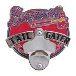"Atlanta Braves MLB Tailgater Hitch Receiver Cover for 2"" Trailer Hitches"