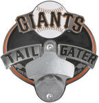 "San Francisco Giants MLB Tailgater Hitch Receiver Cover for 2"" Trailer Hitches"