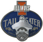 "Illinois Illini Tailgater 2"" Trailer Hitch Cover"