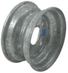 "Americana Steel Trailer Wheel - 8"" x 3-3/4"" Rim - 4 on 4 - Galvanized Finish"
