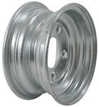 "Americana Steel Trailer Wheel - 8"" x 3-3/4"" Rim - 5 on 4-1/2 - Galvanized Finish"