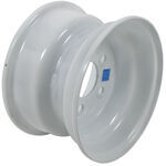 "Americana Steel Trailer Wheel - 10"" x 6"" Rim - 5 on 4-1/2 - White"