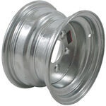 "Americana Steel Trailer Wheel - 10"" x 6"" Rim - 5 on 4-1/2 - Galvanized Finish"