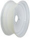 "Dexstar Conventional Steel Wheel - 13"" x 4-1/2"" Rim - 4 on 4 - White Powder Coat"