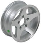 "Americana Aluminum Star Mag Trailer Wheel - 13"" x 5"" Rim - 5 on 4-1/2"