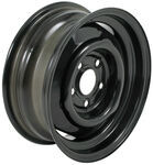 "Dexstar Conventional Steel Wheel with Offset - 14"" x 5-1/2"" Rim - 5 on 4-1/2 - Black"
