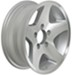 "Aluminum HWT Star Mag Trailer Wheel - 14"" x 5-1/2"" Rim - 5 on 4-1/2"