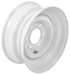 "Dexstar Stud-Piloted Steel Wheel w/ -0.5"" Offset - 14-1/2"" x 6"" - 6 on 5-1/2"