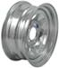 "Dexstar Steel Spoke Trailer Wheel - 14"" x 6"" Rim - 5 on 4-1/2 - Galvanized Finish"