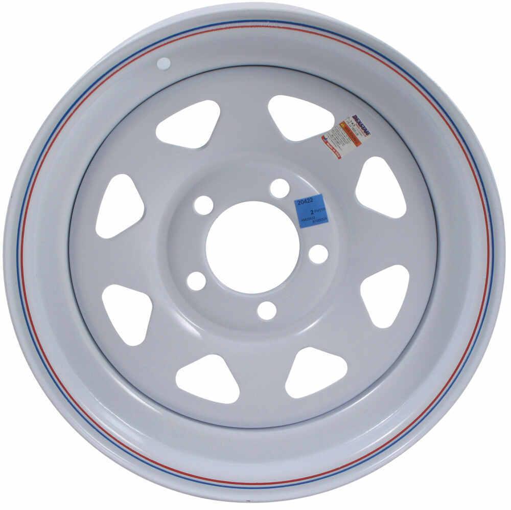 dexstar steel spoke trailer wheel - 15 u0026quot  x 5 u0026quot  rim