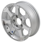 "Americana Aluminum Hi-Spec Series 6 Trailer Wheel - 15"" x 5"" Rim - 5 on 4-1/2"