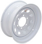 "Mini Mod Steel Wheel - White - 15"" x 6"""