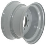 "Dexstar Stud-Piloted Steel Wheel w -.3"" Offset - 16-1/2"" x 9-3/4"" - 8 on 6-1/2 - Gray"