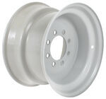 "Dexstar Stud-Piloted Steel Wheel w +.5"" Offset - 16-1/2"" x 9-3/4"" - 8 on 6-1/2 - Gray"