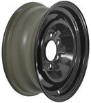 "Dexstar Conventional Steel Wheel - 16"" x 6"" Rim - 6 on 5-1/2 - Black Powder Coat"