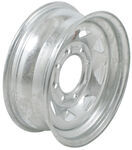 "Dexstar Steel Spoke Trailer Wheel - 16"" x 6"" Rim - 8 on 6-1/2 - Galvanized Finish"
