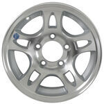 "Americana Aluminum Split Spoke Trailer Wheel - 13"" x 5"" Rim - 5 on 4-1/2"