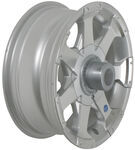 "Americana Aluminum Hi-Spec Series 6 Trailer Wheel - 14"" x 5-1/2"" Rim - 5 on 4-1/2"