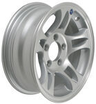 "Americana Aluminum Split Spoke Trailer Wheel - 14"" x 5-1/2"" Rim - 5 on 4-1/2"