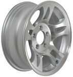 "Americana Aluminum Split Spoke Trailer Wheel - 15"" x 6"" Rim - 5 on 4-1/2"