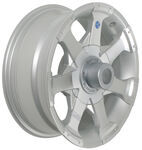 "Americana Aluminum Hi-Spec Series 6 Trailer Wheel - 15"" x 6"" Rim - 5 on 4-1/2"