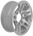 "Americana Aluminum Split Spoke Trailer Wheel - 16"" x 6-1/2"" Rim - 8 on 6-1/2"
