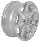 "Americana Aluminum Hi-Spec Series 6 Trailer Wheel - 16"" x 7"" Rim - 8 on 6-1/2"