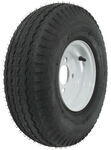 "Kenda 5.70-8 Bias Trailer Tire with 8"" White Wheel - 4 on 4 - Load Range B"