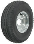 "Kenda 5.70-8 Bias Trailer Tire with 8"" Galvanized Wheel - 4 on 4 - Load Range C"