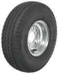 "Kenda 5.70-8 Bias Trailer Tire with 8"" Galvanized Wheel - 5 on 4-1/2 - Load Range C"