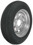 "Kenda 4.80-12 Bias Trailer Tire with 12"" Galvanized Wheel - 5 on 4-1/2 - Load Range C"