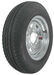 "Kenda 5.30-12 Bias Trailer Tire with 12"" Galvanized Wheel - 5 on 4-1/2 - Load Range D"