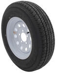 "Karrier ST175/80R13 Radial Trailer Tire w/13"" White Modular Wheel - 5 on 4-1/2 - Load Range C"