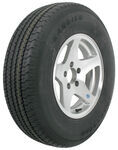 "Karrier ST225/75R15 Radial Trailer Tire with 15"" Aluminum Wheel - 5 on 4-1/2 - Load Range C"