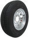 "Karrier ST225/75R15 Radial Trailer Tire with 15"" Galvanized Wheel - 6 on 5-1/2 - Load Range D"